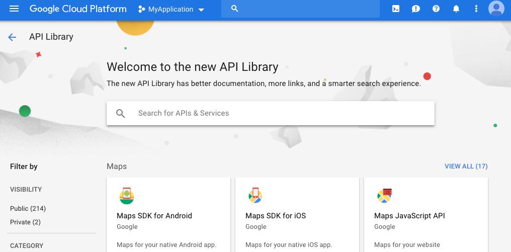 Google API Library