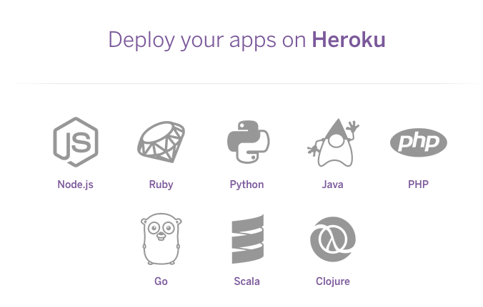 Deploy your Applications in Heroku